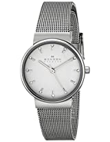 Skagen Ancher Analog Silver Dial Women's Watch - SKW2195