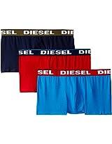 Diesel Men's Polycotton Boxer Set (Pack of 3)