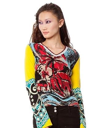 Custo Camiseta Mas Back (Multicolor)