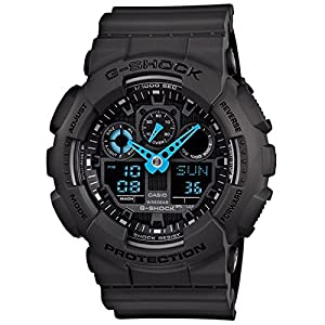 Casio GA-100C-8ADR-G479 Casio G-Shock Analog-Digital Watch - For Men