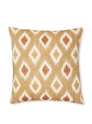 The Pillow Collection Faela Diamond Decorative Pillow (Canyon)