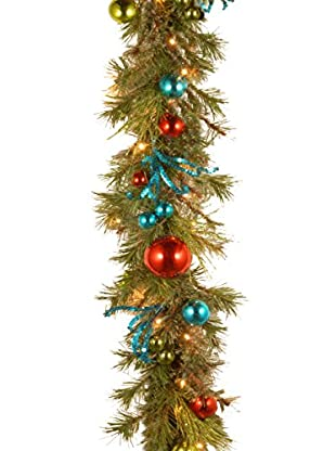National Tree Company 9' Decorative Collection Retro Garland