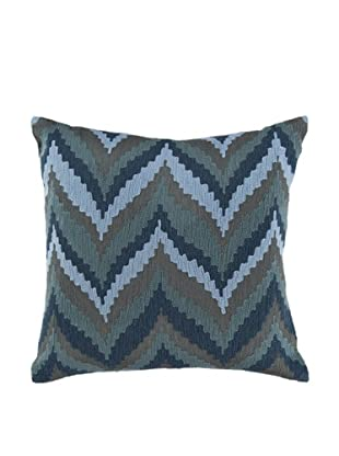 Surya Chevron Throw Pillow, Goblin Blue