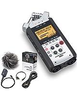 Zoom H4nSP Portable 4-Track Handheld Audio Recorder & APH-4NSP Accessory Kit - Bundle
