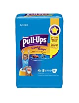 Huggies Pull-Ups Training Pants for Boys with Learning Designs, Jumbo Pack, Size 4T-5T, 19 Count