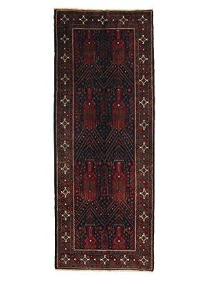 Darya Rugs Persian One-of-a-Kind Rug, Red, 3' 10