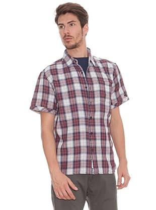 Timeout Camisa Bolsillo (azul / rojo)