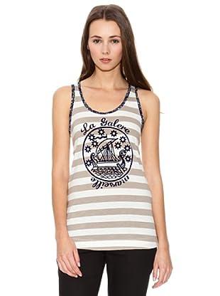 Mango Camiseta Ucd Liberty (Crudo)