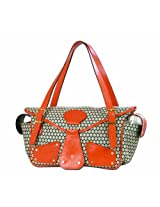 Mia Bossi Maria Diaper Bag Tangerine