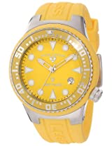 Swiss Legend Women's 11044D-07 Neptune Yellow Dial Yellow Silicone Watch