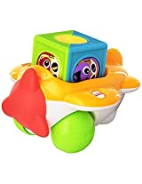 Fisher Price Roller Blocks Airplane, Multi Color