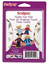 Sculpey Push Mold -Family Time