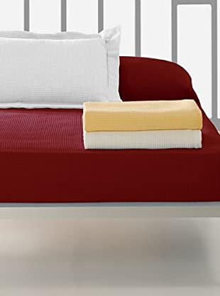 Colcha Algodón (Rojo)
