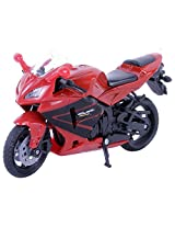 Newray 1: 18 Scale Honda CBR 600RR Bike - Red