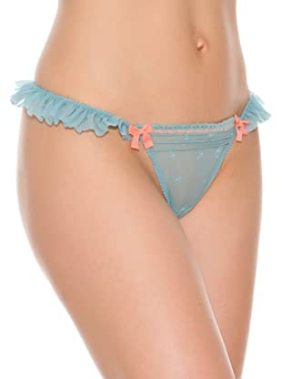 Women secret Braga Tanga Embo (Azul)