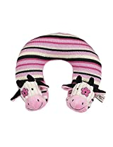 Maison Chic Travel Pillow, Daisy the Cow