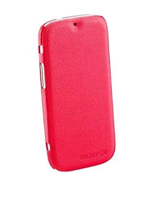 Beja Carcasa Flip Cover Roja para Samsung Galaxy S3