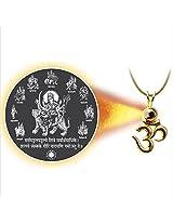 Dijyo Divine Darshan Durga-ji Navroop Pendant (SGP31NDG)