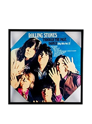 The Rolling Stones: Through The Past Darkly Framed Album Cover