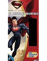Paper Magic Deluxe Lenticular 3D Valentine Superman Exchange Cards (27 Count)