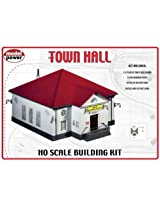Model Power HO Scale Building Kit - Town Hall