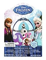 Disney Frozen Easter Egg Decorating Deluxe Dye Kit Olaf, Elsa, Anna With Glitter Stickers