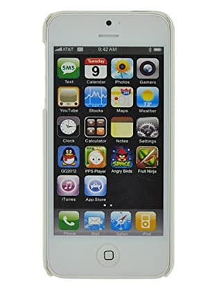 Blautel iPhone 5 Carcasa Protectora Cover Metal Negro
