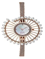 Titan Analog Mother of Pearl Dial Women's Watch - 9970WM01J