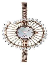 Titan Analog Mother of Pearl Dial Women's Watch - 9970WM01J