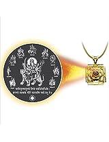 Dijyo Divine Darshan Durga-ji Navroop Pendant For Unisex(SGP29NDG)
