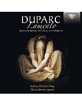 Duparc: Lamento, Complete Songs