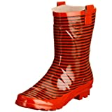 Jacobsons Stripey Wellingtons Boots