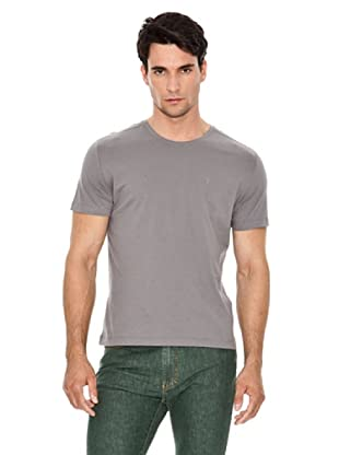 Versace Jeans Camiseta Logo Pequeño (Gris)