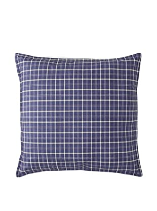 Tommy Hilfiger Vintage Plaid Decorative Pillow, Navy, 18