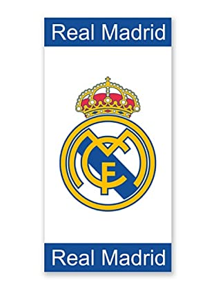 Real Madrid C.F. Toallas de Playa Jaquard Cenefas (Verde)