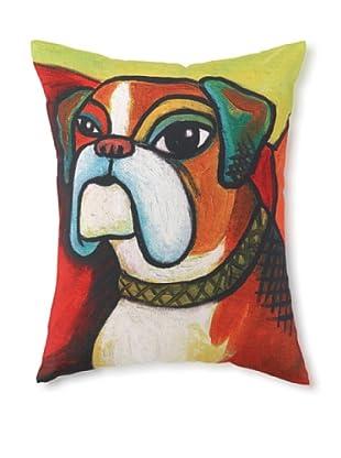 Pawcasso Boxer Pillow