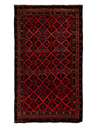 Tribal Collection Oriental Rug, Rust, 5' 7