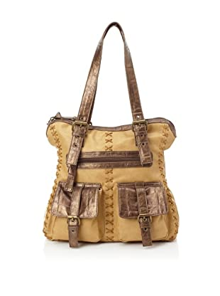 amykathryn Jasmine Carry-All Shoulder Bag (Camel)