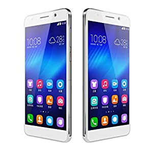 Huawei Honor 6, WHITE Colour, 3GB RAM, 32GB ROM, 5 Inch, Front 5MP, Rear 13MP, (CASH ON DELIVERY NOT ACCEPTABLE)