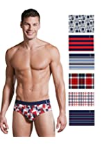 Jockey Men's Cotton Brief (8901326120712_US52-0110-ASSAD PRINT Prints ) (Large, PRINTED )