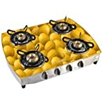 Advanta VETRA Lemon Designer Cooktop - 4 Burner