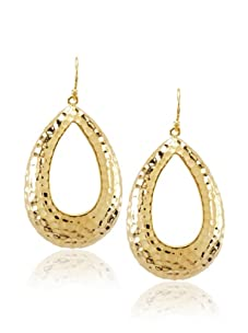 Courtney Kaye Relic Earrings, Gold