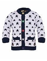 Yellow Apple Baby Boys 18-24 months Wool Sweater (Wine)