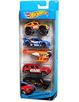 Hot Wheels - 5 Cars pack Rescue Racers 5