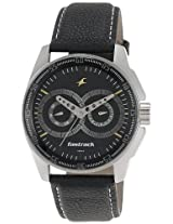 Fastrack Black Magic Analog Black Dial Men's Watch - NE3089SL02