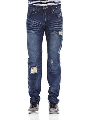 Desigual Pantalón Nefta Rep (Azul)