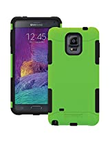 TRIDENT Samsung Galaxy Note 4 Aegis Series Case - Retail Packaging - Green