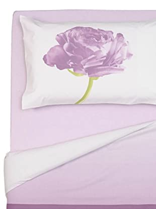 Cartoons Home Completo Letto Two Roses (rosa)