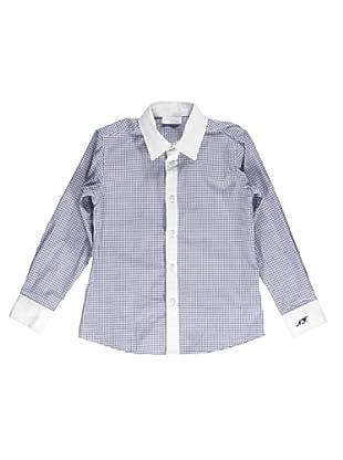 Camisa Cuadros (Azul)