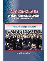 to publish a book: La democratie : un regime politique a organiser
